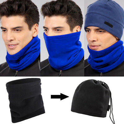Polar Fleece Thermal Neck Warmer Gaiter Face Mask Snood Hat Scarf Bandana Nice