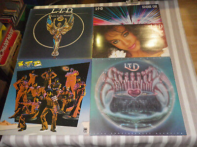"LTD: Something To Love/ Love To The World etc., NICE LOT WITH 5 LP´S/ 12"", MINT"