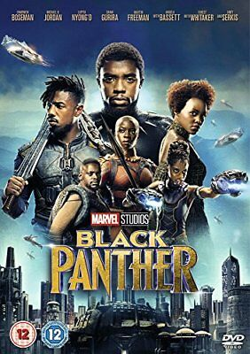 Black Panther [DVD] [2018] [DVD][Region 2]