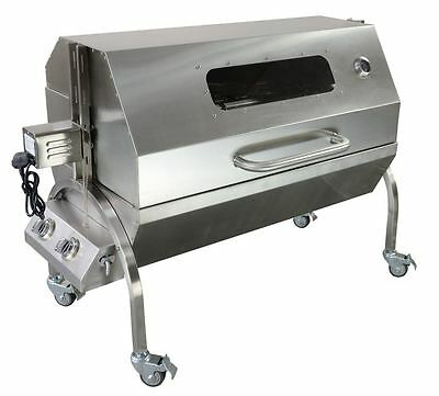 Gas Spit Roast Hog Roast Machine Roaster With 25W Motor