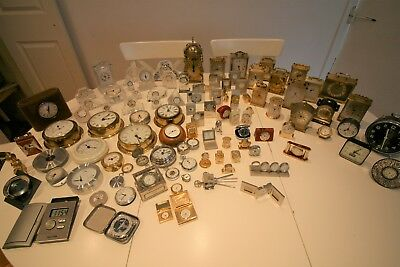 Large Collection of Clocks Job Lot