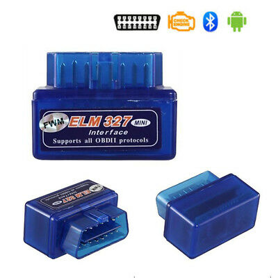 Bluetooth V2.1 OBD2 ELM327 Car Scanner Android Torque Auto Diagnostic Scan Gauge