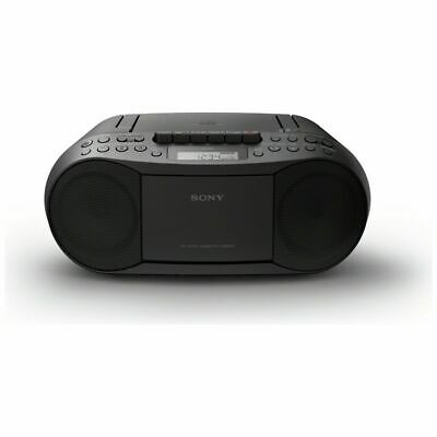 Sony CFD-S70 Cassette and CD Player – Black - Free 90 Day Guarantee