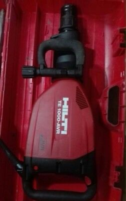 Hilti Te 1000 Avr + Hard Case +Chisel Good Condition