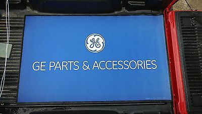 NICE NEW General Electric GE Parts & Service Advertising Rubber Store Mat Sign
