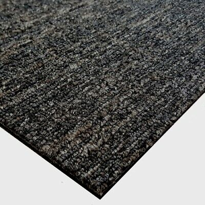 Modulyss CARPET TILES Contract Charcoal Grey Office Shop Nylon Hard Wearing Tile