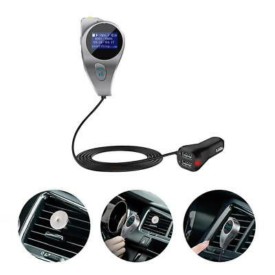 Bluetooth FM Transmitter Auto KFZ SD MP3 Player USB AUX Freisprechanlage