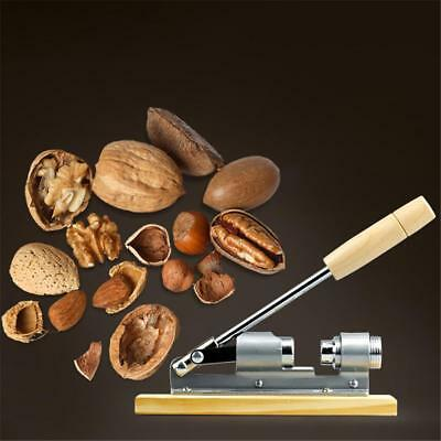 Mechanische Quick Sheller Walnut Cracker Nussknacker Mutter Opener Home