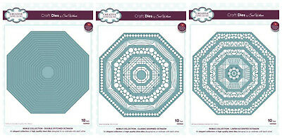 Creative Expressions - Sue Wilson Craft Dies Noble Collection Octagon - Jan 2018