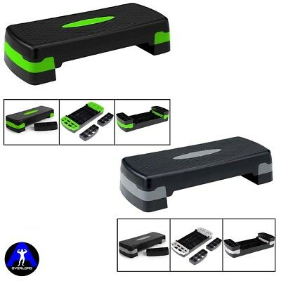 Aerobic Stepper Adjustable Training Yoga Fitness Step Up Box Workout Board