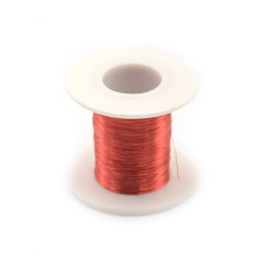 100m/Roll Red Magnet Wire 0.2mm QA Enameled Copper Wire Magnetic Coil Winding TH