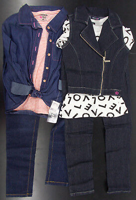 Girls Limited Too $58 - $62 3pc Shirts & Jeans Sets Size 7 - 12