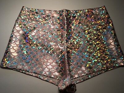 50% Off Adult Small Booty Shorts,dance~Gym~Rave~Costume~Mermaid~Derby~Edm ~18