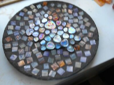 "Mosaic 13 "" Stained Glass Panel"