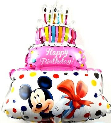 R12f9 Not Helium Balloon Disney Micky Maus Geburtstag Minnie