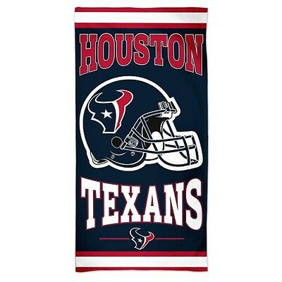 Houston Texans Beach Towel [NEW] NFL Blanket Vacation Summer Pool CDG