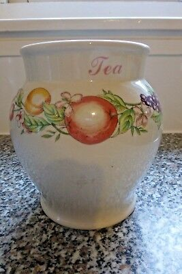 Boots  Tea Caddy( Orchard ) No Lid