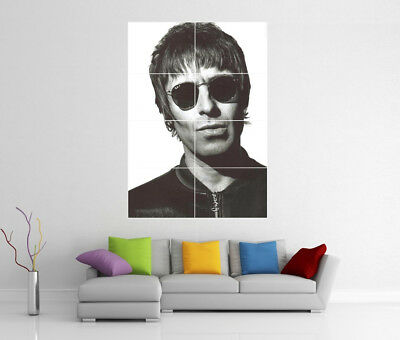 Liam Gallagher Oasis Giant Wall Art Poster Print Bb6 Picture Photo Poster
