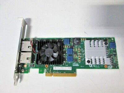 Dell Intel X520-T2 10Gb Dual Port Ethernet Pcie Adapter Jm42W