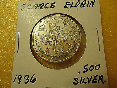 1936 Nice Gothic Florin Coin  **.500 Silver**   >>Combined Shipping<<