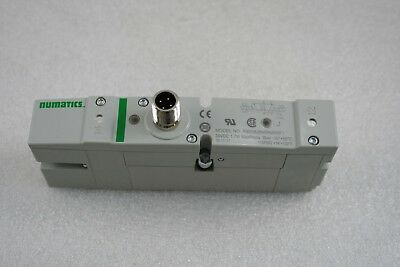 Numatics R503A2B40NA00F1 Single Solenoid Vale, Quick Disconnect, 24 VDC