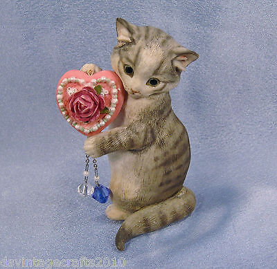 Thinking of You Kitty Cat Figurine by Country Artist No.3507
