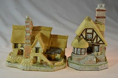 David Winter Cottages - 2 pieces - 1986 and 1991