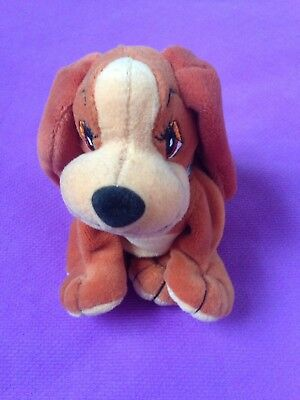 DISNEY Video Release LADY And The TRAMP Plush Lady BEAN BAG Beanie