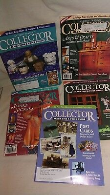 Lot of 5 Antique Trader's Collector Magazine & Price Guide