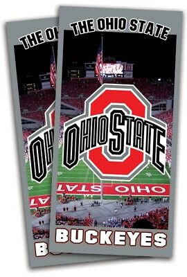 Ohio State Cornhole Wrap Decals Bag Toss 3M Vinyl 24x48 Fast Shipping