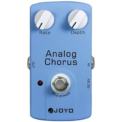 Joyo JF-37 Analog Chorus Guitar Effects Pedal w/ True Bypass & BBD Chip