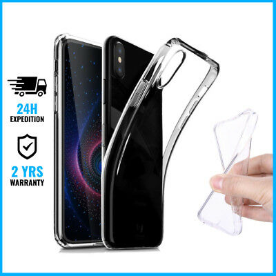 Transparent Cas Gel Clear Case Cover Etui Coque Silicone TPU For Huawei P20 Lite