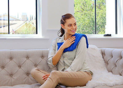Natural and Reusable Pain Relief Solution - My Heating Pad (Blue)