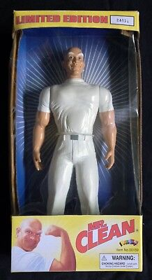 Mr Clean  Limited Edition Action Figure Doll #00159 Nrfb