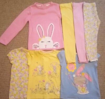 toddler girls mothercare outfits bundle age 4-5