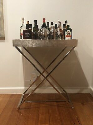 Drink Trolley Tray Cart (butler stand) By West Elm in excellent condition
