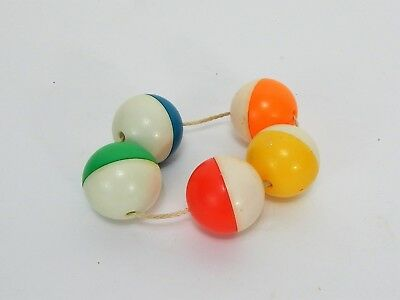 Vintage Baby Rattle Multi Color