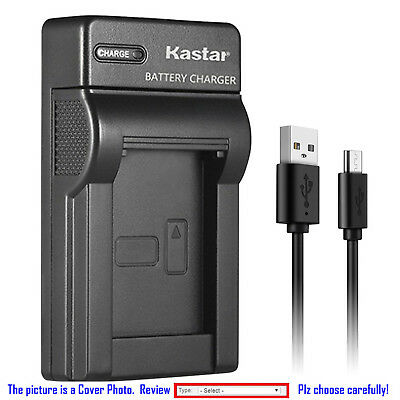Kastar Battery Slim Charger for Canon LP-E10 LPE10 LC-E10 Canon EOS 1100D Camera