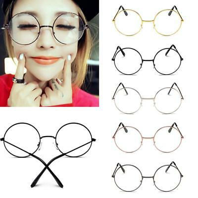 Retro Glasses Girl Women Cosplay Retro Round Eyewear Eye Protection