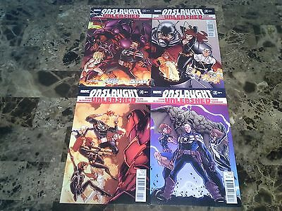 Onslaught Unleashed 1 2 3 4 1-4 NM 9.4 Complete Set High Grade