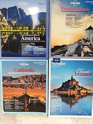 2012 Lonely Planet Traveller Magazines May To August Issues 41-44