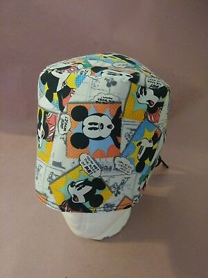 Unisex surgical scrub hat (Mickey Mouse)