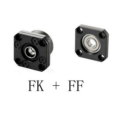 1set FK12 FF12 Fixed Floated End Supports Bearing Mounts for Ball Screw SFU1605