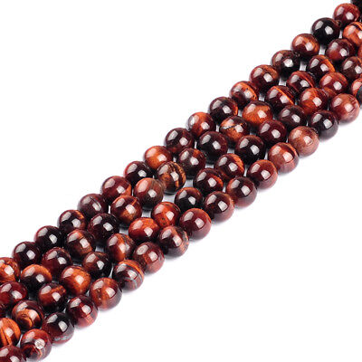 10mm Round Red Tiger Eye stone beads loose beads for making bracelet for gift