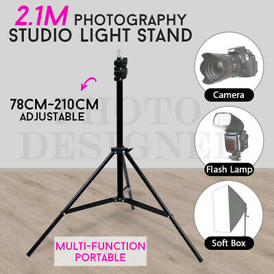 Studio Photo 2.1M Tripod Light Stand Heavy Duty for Softbox Umb Flash Reflector