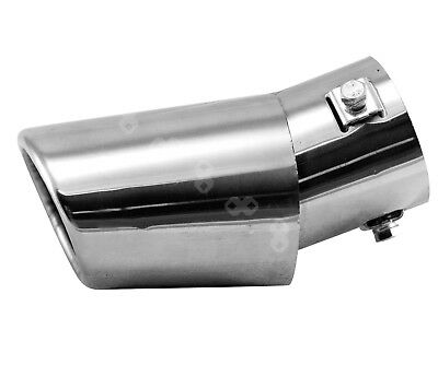 Car Universal Stainless Exhaust Muffler Tip Pipe Sporty Exhaust Extension Pipe