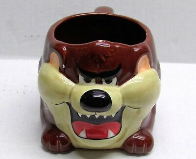 Rare 1989 Applause TAZ Tasmanian Devil Warner Bros Coffee Cup Mug