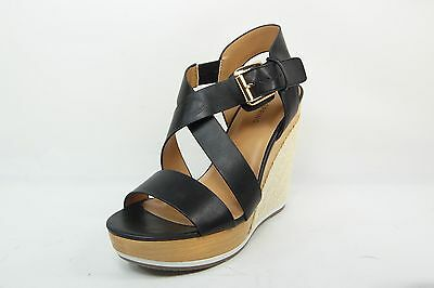 513b0fccac7757 Call It Spring Lalisen Womens Sandals Platform Wedge Heels Strap Black Size  8.5
