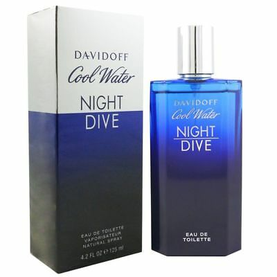 DAVIDOFF COOL WATER NIGHT DIVE Eau de Toilette Spray Men 125ml Duft Neu NP: 60€