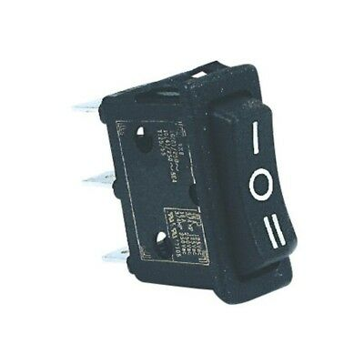 Interruttore Switch On/off/on 10a 250vac Nero